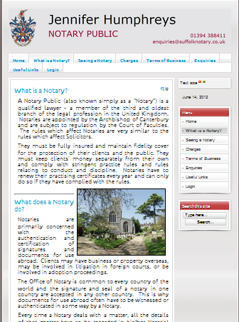 www.suffolknotary.co.uk - What is a notary page