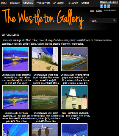 www.westletongallery.co.uk - Suffolk scenes page